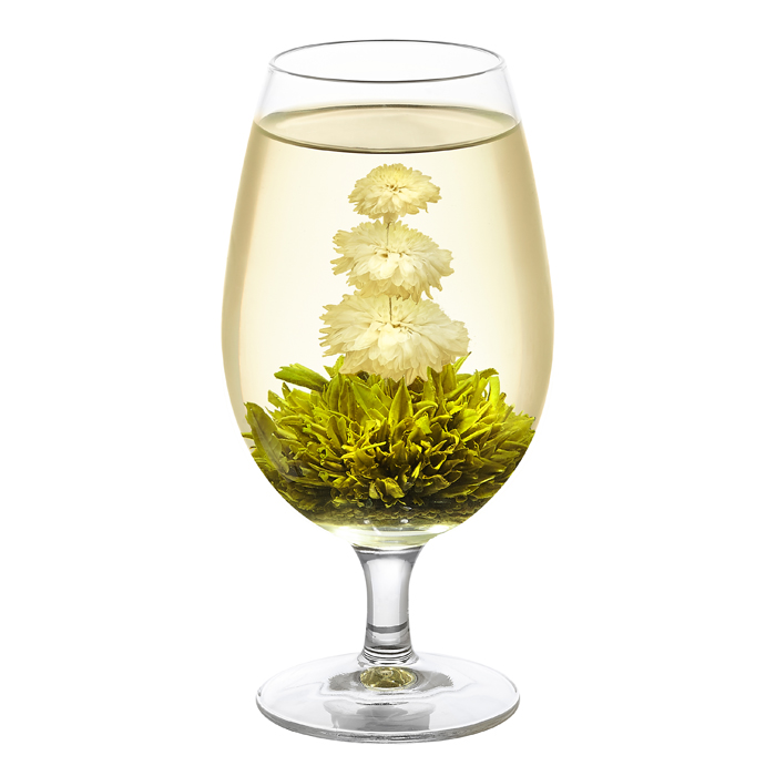 Chrysanthemum flowering green tea