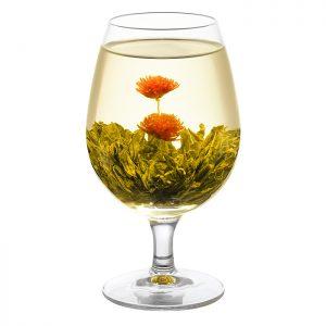 WellTea Double Happiness Flowering Green Tea