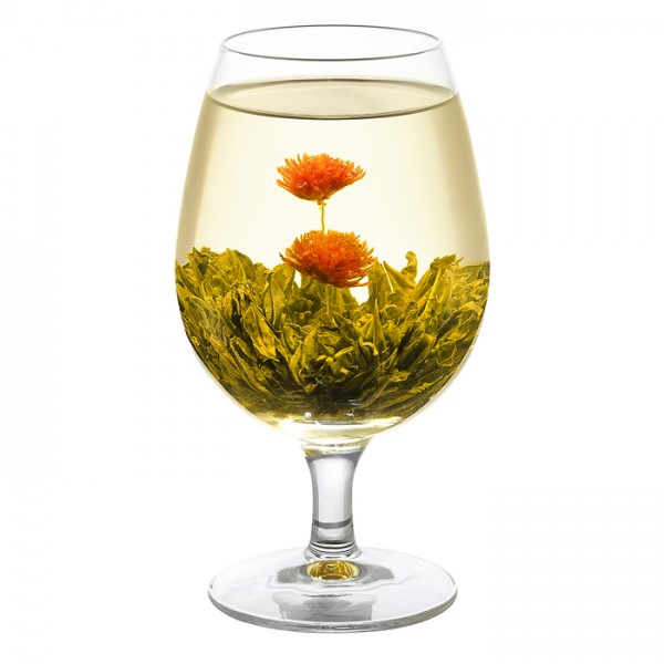 Glass-Double-Happiness-Flowering-Tea