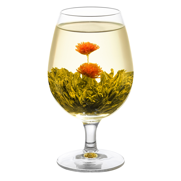WellTea Double Happiness Flowering Green Tea